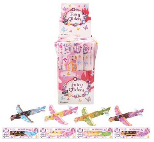 Fairy Flying Plane Gliders, Pack of 4